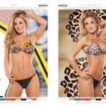 bikini tropical y animal print Cocot verano 2015