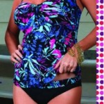 tankini estampa tropical Chatelet verano 2015