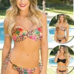 bikini estampa animal print Natubel verano 2016