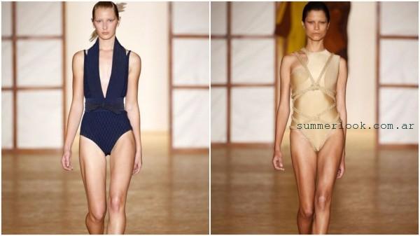 Lenny Niemeyer - traje de baño enterizo verano 2017