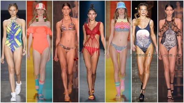Sao Paulo Fashion Week 2017 tendencia en mallas