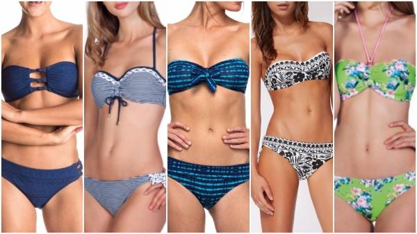 1cf04cd549bfc bikinis bando tendencia de moda verano 2018 Argentina - Looks de verano