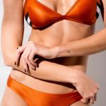 AVOCADO swimwear bikini naranja verano 2018