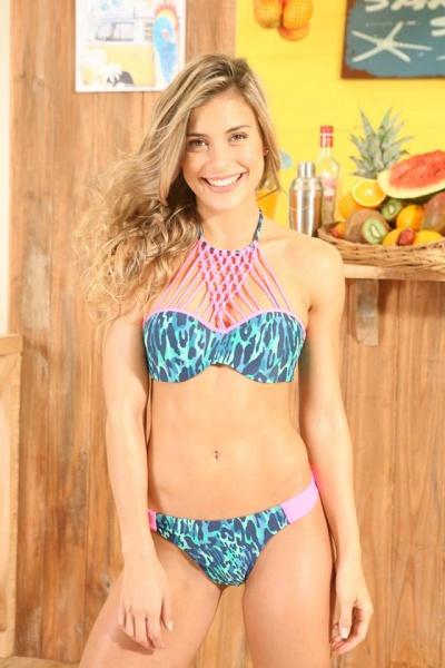 Bikinis estampadas verano 2018 Clohé anticipo