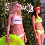 bikinis cuello alto estilo deportivo verano 2018 Luz de mar