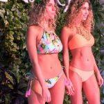bikinis estampada y crochet verano 2018 Luz de mar