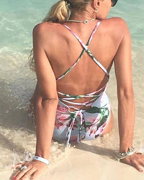 emezeta bikinis malla enteriza estampada verano 2018