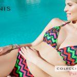 Bikinis figuras geometricas verano 2018 Maria Lolgi