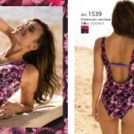 Malla enteriza tonos purpura verano 2018 Wassarette