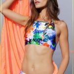 bikini top deportivo estampado verano 2018 Maria Lolgi