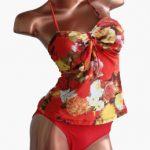 Bea trajes de baño verano 2018 tankini floreada