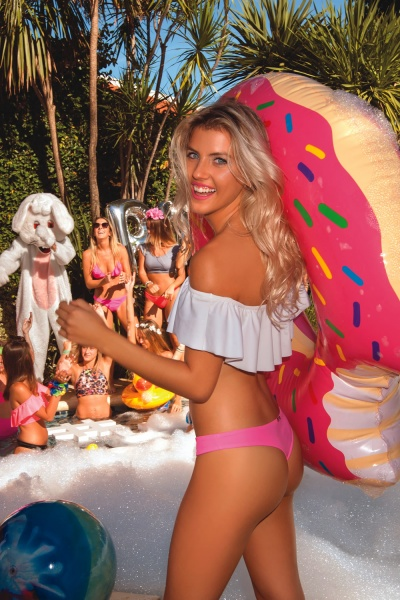 bikini juvenil top con volados verano 2018 Sweet Victorian
