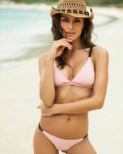 bikini rosa Andressa primavera verana 2018