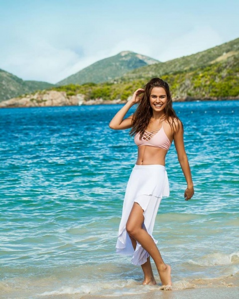 bikini tiras cruzadas Andressa primavera verana 2018