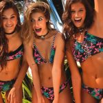 bikinis para teenager estampadas verano 2018 Sweet Victorian
