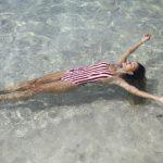 malla enteriza a rayas verano 2018 Sweet Lady China Suarez
