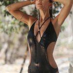 trikini negra verano 2018 Sweet Lady China Suarez