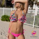 Bikini triangulo con volados Sunsea verano 2018