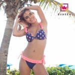 bikini azul y rosado Sunsea verano 2018