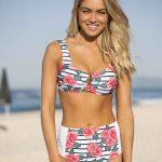 bikini con rosas verano 2018 CIPITRIA