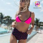 bikini fucsia con estrellas Sunsea verano 2018