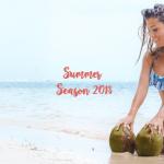 Bikini estampada tonos azules verano 2018 MAREA