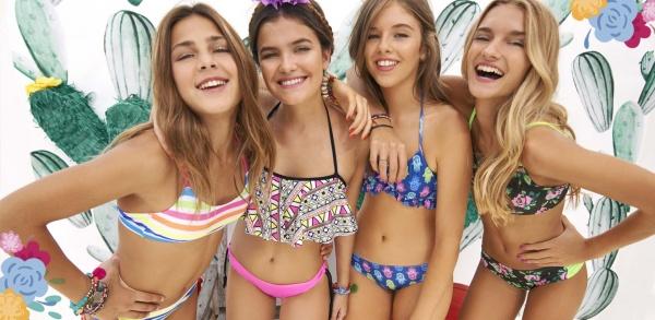 Bikinis para adolescentes verano 2018 - tutta la frutta