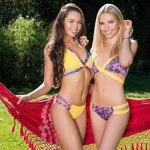bikini amarilla verano 2018 Lody