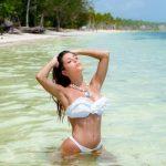 bikini blanca de broderie verano 2018 MAREA