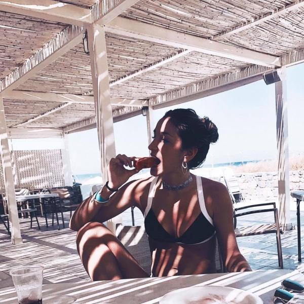 bikini blanca y negra verano 2018 - Anna Bikini