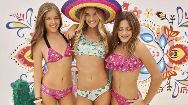 bikinis para adolescentes con emoticones verano 2018 - tutta la frutta