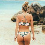 bikinis vichy y flores verano 2018 Anna Bikini