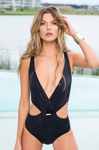 trikini negra verano 2018 - Lody