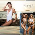 bikinis y enterizas escote con tiras verano 2018 Promesse