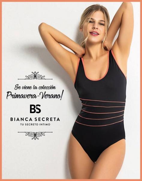 Bianca Mare - malla enteriza bianca secreta verano 2019