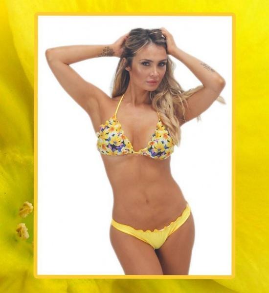 Cla Cla - Bikini flores amarillas verano 2019