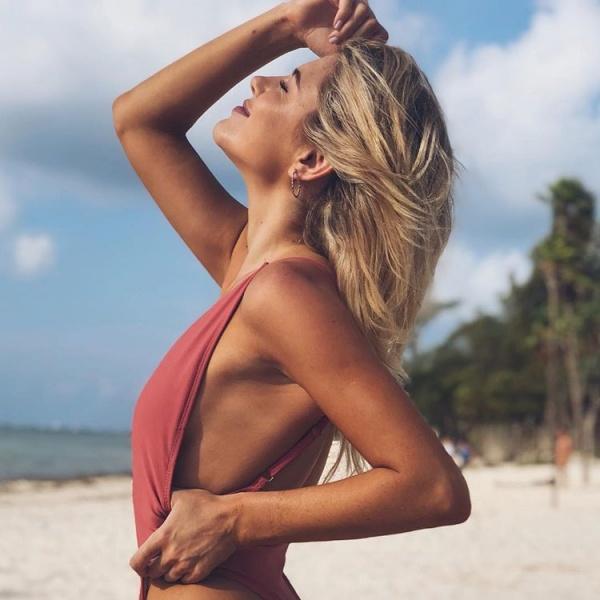 Malla enteriza sensual - trajes de baño Luz de Mar verano 2019