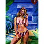 bikini a rayas trajes de baño Luz de Mar verano 2019