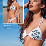 bikini blanca bordada verano 2019 Maria Lolgi