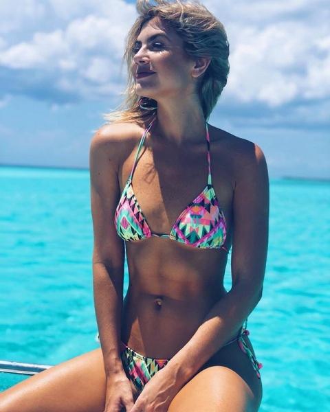 bikini estampa colores fluor - trajes de baño Luz de Mar verano 2019