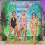 trikini y bikini con flores bordadas trajes de baño Luz de Mar verano 2019