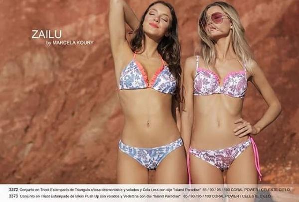 Bikinis flores romanticas verano 2019 by Zailu