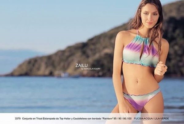 bikini en degrade verano 2019 by Zailu