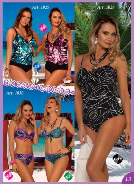 bikinis tankinis y enterizas en talles especiales verano 2019 Sabbia Di Mare