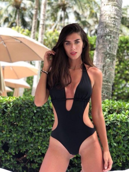 trikini negra cleo verano 2019