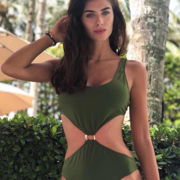 trikini verde cleo verano 2019