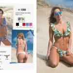 Bikini con volados verano 2019 Cocot