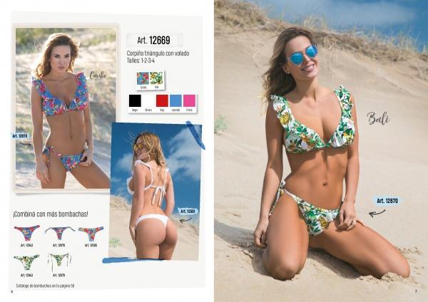 Bikini con volados verano 2019 - Cocot