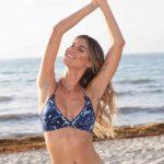 Swim Days bikini azul bordada verano 2019