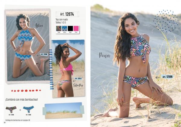 bikini cuello alto verano 2019 - Cocot